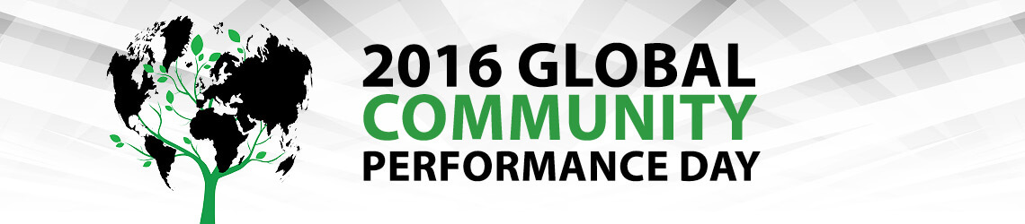 Performics Community Performance Day logo