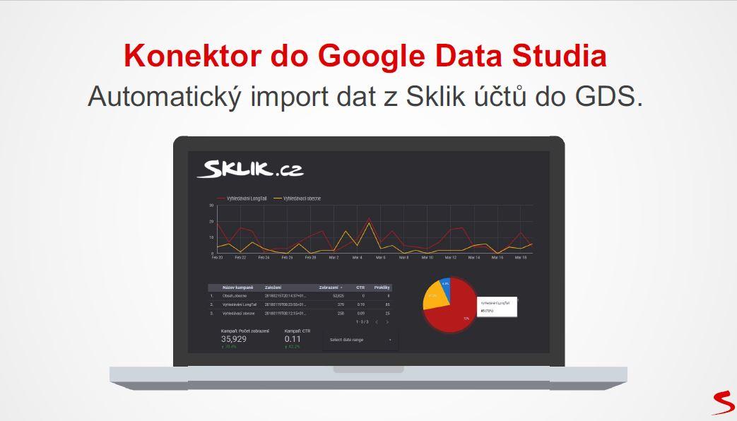 Sklik Expert Forum - Prezentacia Konektor Google Data Studio