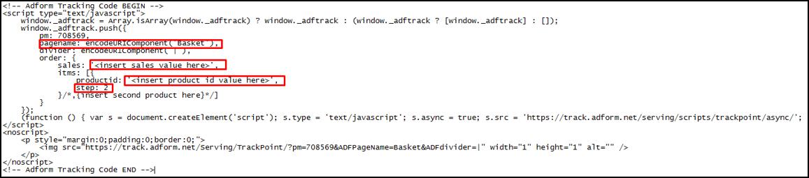 Performics - Produktový retargeting - Implementace tracking kódů