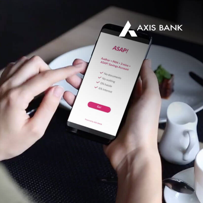 Axis Bank Case Study by Performics India